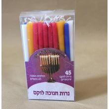 Factory directly supply for China 7G Taper Color Candle,Color Spiral Taper Candle,Red Color Taper Candle Supplier Jewish Smokeless Colorful Hanukkah Candles export to Indonesia Importers
