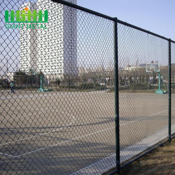 high quality basketball court chain link fence