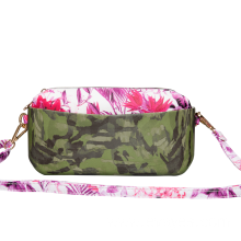 camouflage printing crossbody messenger bag for girls