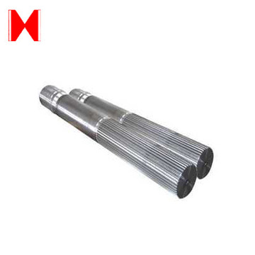 Casting Carbon Steel Spur Gear Shaft
