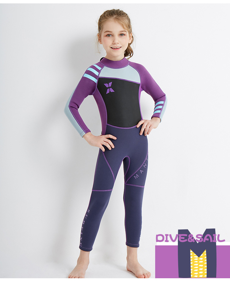 Diving suit children's diving suit jellyfish winter suit (7)