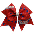 Lavpris tilpasset logo Dance Cheer Hair Bows