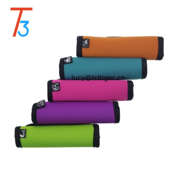 5 Assorted Color Comfort Neoprene Handle Wraps/Grip/Identifier for Travel Bag Luggage Suitcase