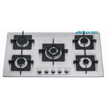 5 Burners Stainless Steel Home Electric Gas Burners