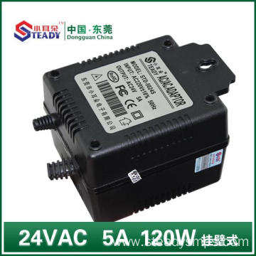 OEM China High quality for Linear Power Supply 12V 24VAC Linear Power Supply 120W export to South Korea Suppliers