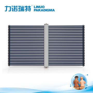 Non-pressurized open loop solar collector