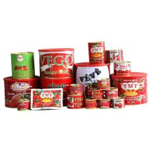 Different Sizes Tomato Paste