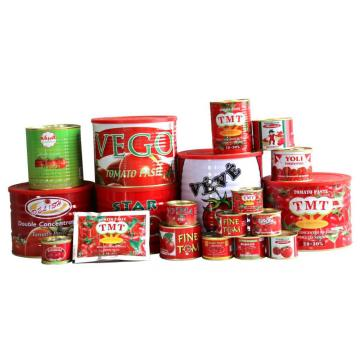 Fresh Tomato Paste in Different Packging