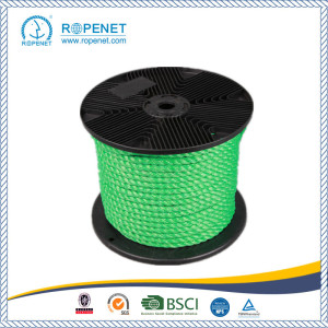 OEM China for 3 Strands Twist PP Split Film Rope Super Strong PP 3 Strands Twisted Rope export to Colombia Factory
