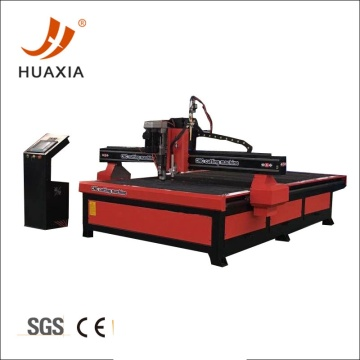 CNC plasma cutter and drilling machine