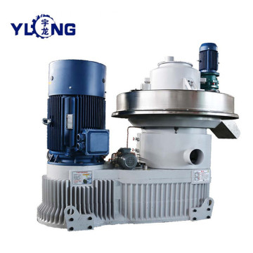YULONG XGJ560 paddy husk pelletizing machine
