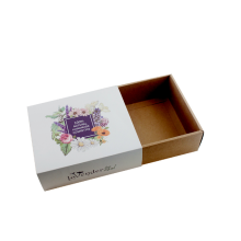 Cosmetic Use Custom White Paper Drawer Box