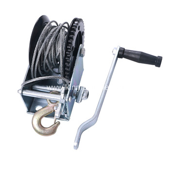 Hand Winch For Dump Trailer