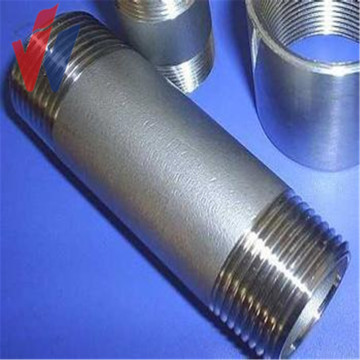 Cheapest Factory for Steel Pipe Fitting carbon steel g i pipe nipple barrel nipple supply to Spain Factories