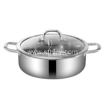 Household Induction Cooker Flat Bottom Hot Pot