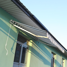 Retractable arms awning 3.6*2.5M Green