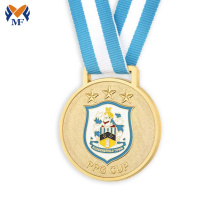 Original Factory for Running Medal Custom round metal enamel medals export to India Suppliers