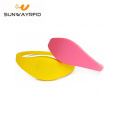 Reusable 125khz TK4100 Silicone Rfid Wristband