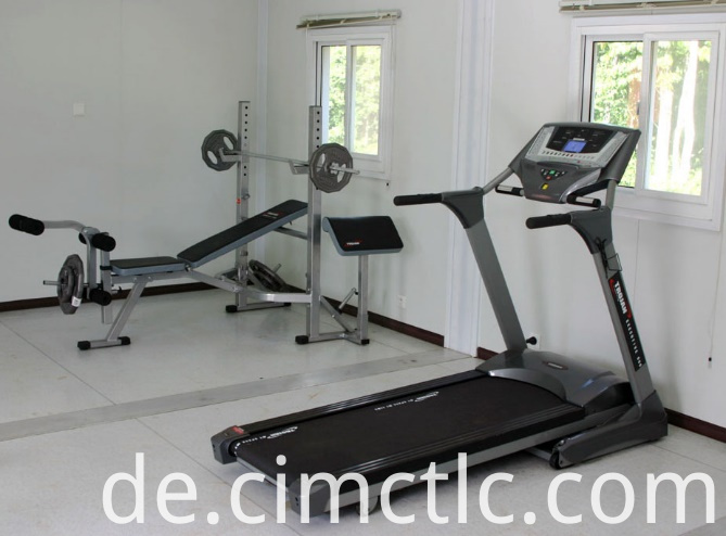Flatpack Gym Room