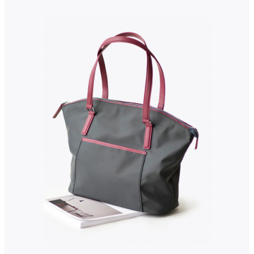 Oem Fashion Designer Women Nylon Travel Tote Handbag