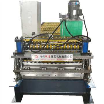 Double layer ibr roll forming profile machines