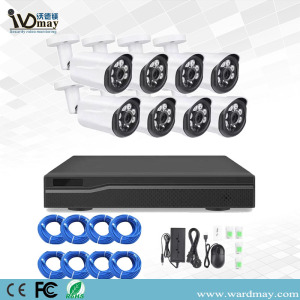 8CH Security Cameras 2.0MP Resolution POE NVR Kits