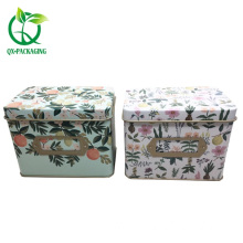 Hot sale Factory for Tin Gift Box,Metal Tin Gift Box,Custom Tin Gift Cans Manufacturers and Suppliers in China Decorative metal tin packaging supply to Japan Exporter