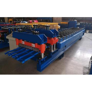 Metal Sheet Glazed Tiles Roof Making Machine