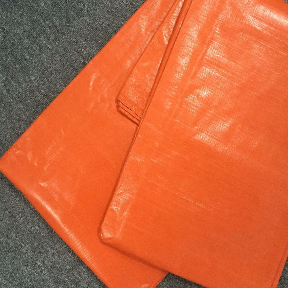 150GSM Orange Tarpaulin
