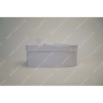 Customer Service white Bowknot wedding boxes