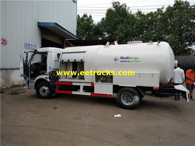 1000 Gallons 2T Propane Dispensing Tanker Trucks