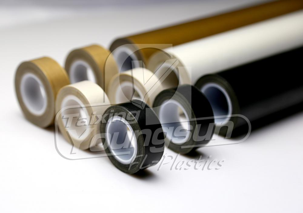 Self Adhesive Heat Resistant PTFE Glass Tape