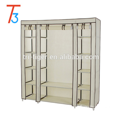 Hot sale Non-woven portable folding fabric wardrobe