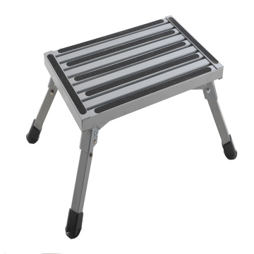 Step aluminum car wash stool