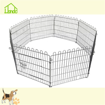 Small metal folding wire mesh puppy fence
