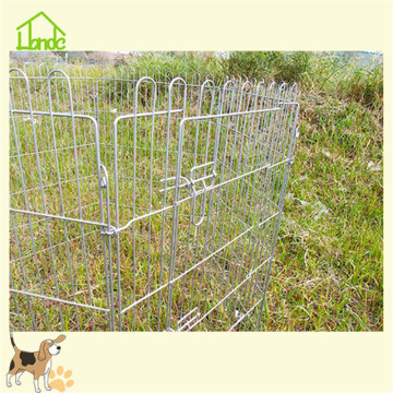 Hot folding metal pet dog puppy pens/dog enclosures