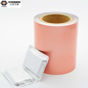 lacquer coated HSL 4-6gm aluminum foil for packaging