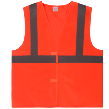 100% Polyester Cheap reflective security jacket