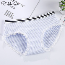 China for Shorty For Women Women cotton underwear ladies lace boyshorts panties export to France Wholesale