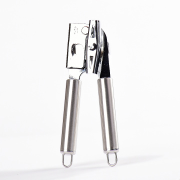 Big strong head stainless steel handle can opener