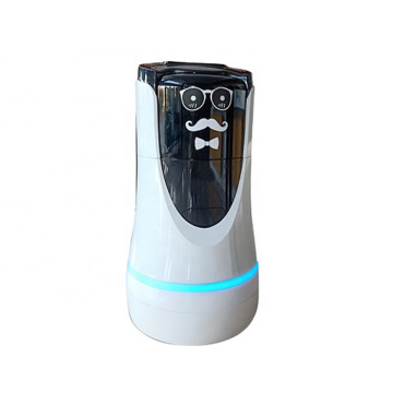 Hotel Eye-catching Service Robot
