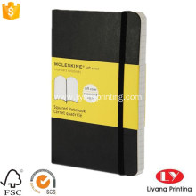 Office customized softcover notebook with elastic