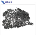 Black silicon carbide in abrasive refractory