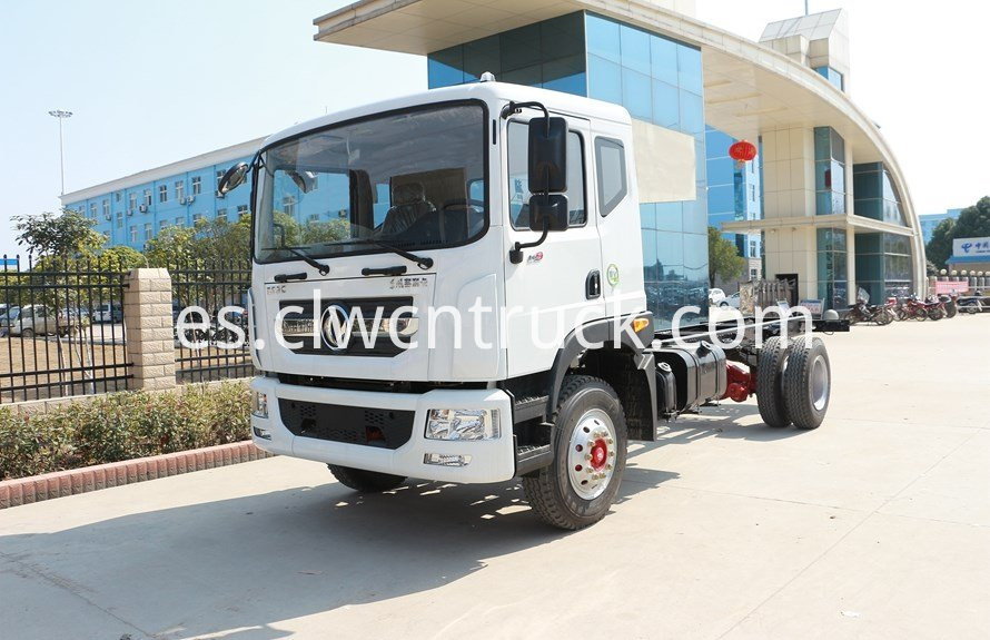 water delivery truck chassis 2