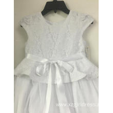 OEM for Girls Dresses,Formal Dresses,Long Dresses,Bridesmaid Dresses Manufacturer in China Princess Flower Baby Girl Dress Summer supply to Sri Lanka Factory