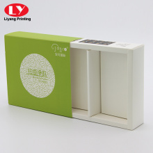 folded slid box with sleeve for skincare products