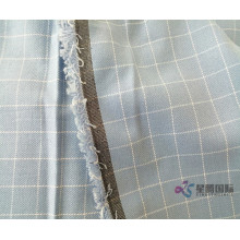 Blue Check 100% Cotton Yarn Dyed Fabric