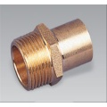 Brass pipe fitting brass Male Coupling