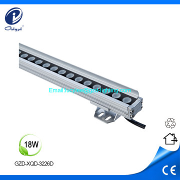 18W DMX512 controll aluminum led facade linear light