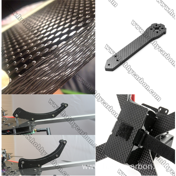 I-3.0x400x500mm Carbon Fiber Sheet Uzimele ye-Drone RC